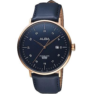 ALBA雅柏簡約生活時尚腕錶(AS9H48X1)