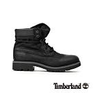 Timberland 男款黑色全粒面革6吋靴|A283M