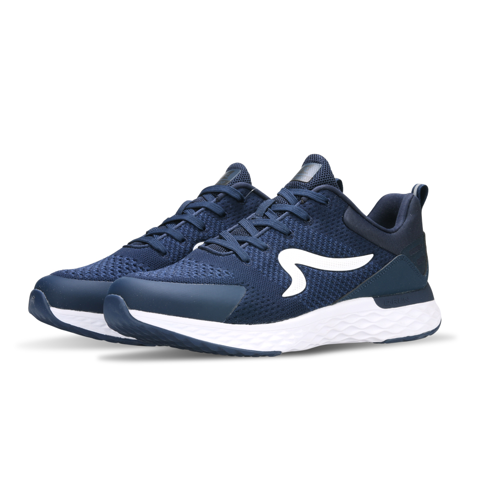 【ZEPRO】男子Q-RUN  FLY系列氫氣槽科技慢跑鞋-海軍藍