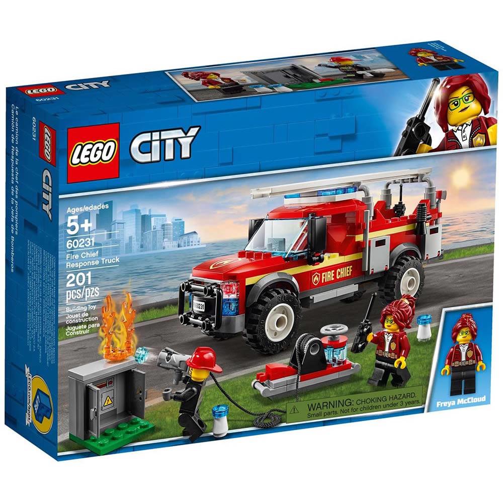 樂高LEGO 城市系列 - LT60231 消防隊長救援卡車