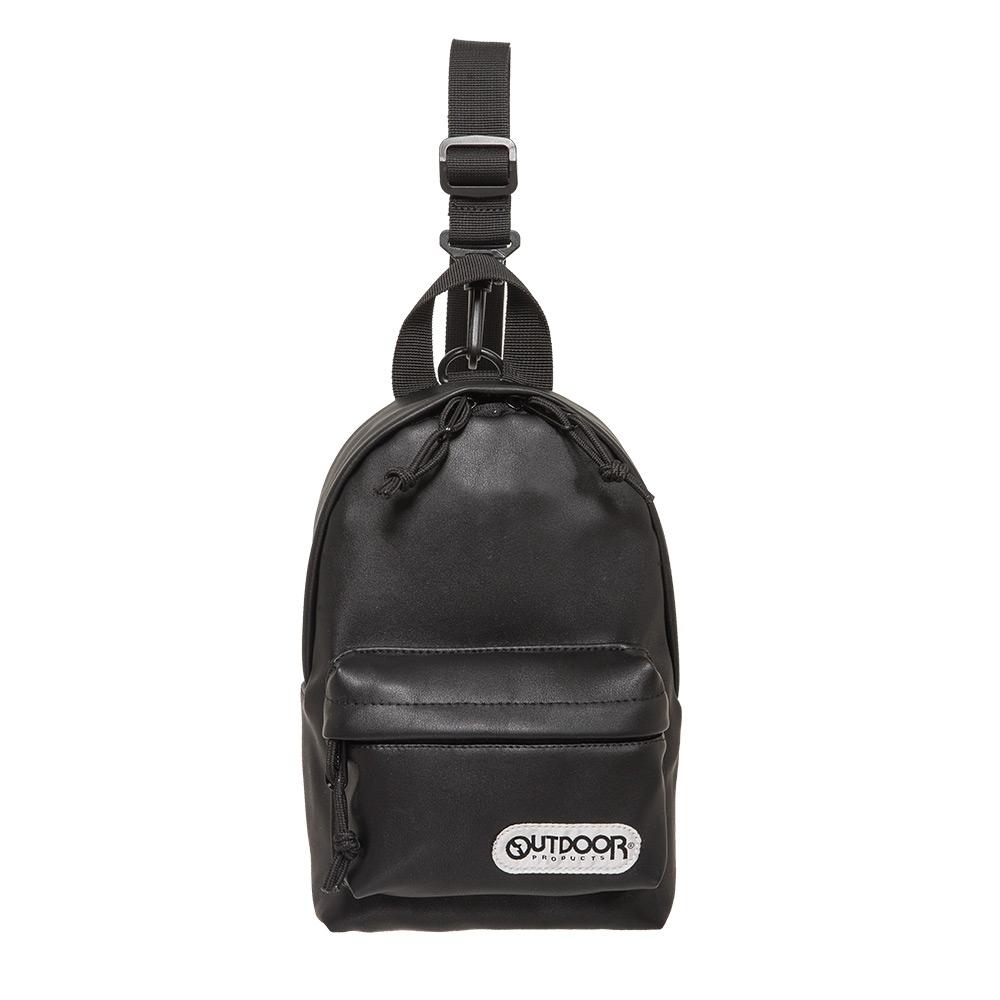 【OUTDOOR】單肩/側背二用包-黑色 OD291107BKU