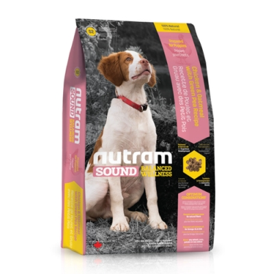 【NUTRAM】紐頓S2幼犬(雞肉+燕麥)6lb/2.72kg【2包組】