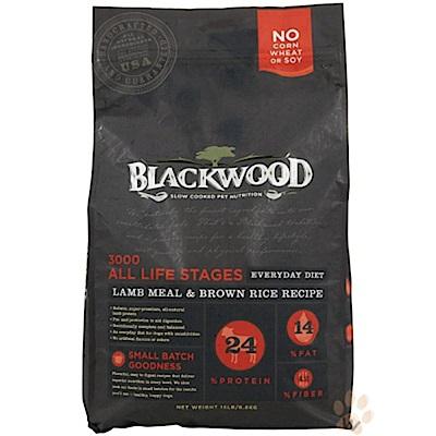 《12月獨家》柏萊富blackwood 特調全齡犬配方(羊肉+糙米+雞肉)30磅X2包組