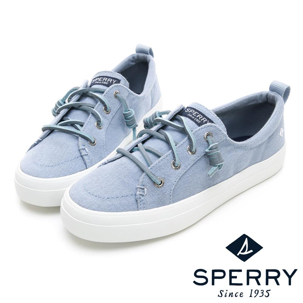 SPERRY 經典復古甜心粉嫩帆布鞋(女)-亮藍 @ Y!購物