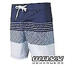 WAXX 衝浪系列-幾何時尚拼接快乾型男衝浪褲(17英吋)