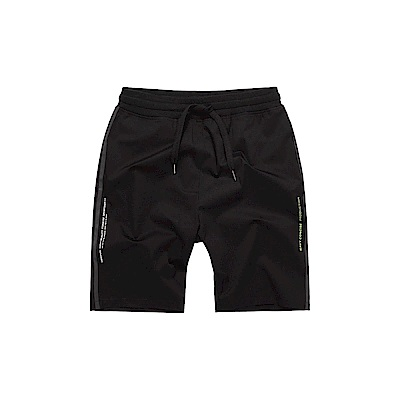 NAVY-側條文字短褲(兩色)-男【SNC047】