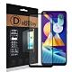 全膠貼合 三星 Samsung Galaxy M11 滿版疏水疏油9H鋼化頂級玻璃膜(黑) product thumbnail 1