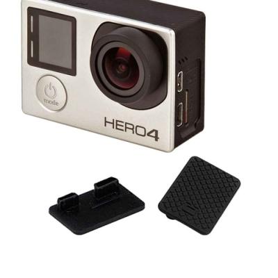 (2入)GoPro HERO 4 3+ 副廠 攝像機側蓋 數據孔防塵保護蓋