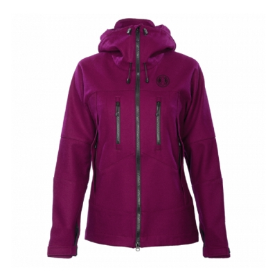 Petromax 羊毛外套 女 黑莓紫 Bergmaid Loden Jacket 402-BM-900