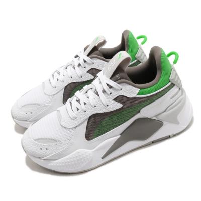 Puma 休閒鞋 RS X Hard Drive 男女鞋 厚底 舒適 簡約 球鞋 情侶穿搭 白 綠 36981807