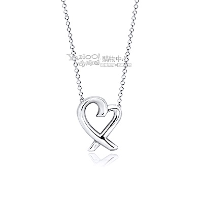 Tiffany&Co. Loving Heart 純銀項鍊