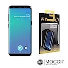 Mocoll - 3D 9H 鋼化玻璃膜 - 三星 S8 專用 ( 黑色 )