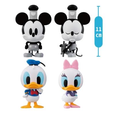 【BANDAI】萬代 環保扭蛋 迪士尼好朋友 豪華版 一組全四種