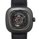 SEVENFRIDAY P3-01 工業美學蘇黎世腕錶機械款x47mm