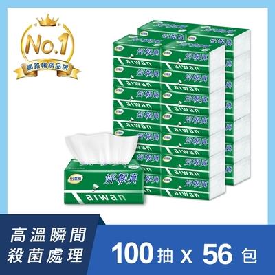 倍潔雅好韌真決勝點3層抽取衛生紙100抽14包4袋/箱
