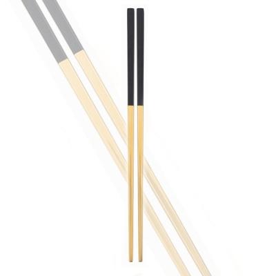 Royal Duke 葡萄牙同款方筷-黑金色(歐洲時尚簡約)