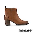 Timberland 女款咖啡色全粒面皮革Eleonor 休閒鞋|A1PZ5