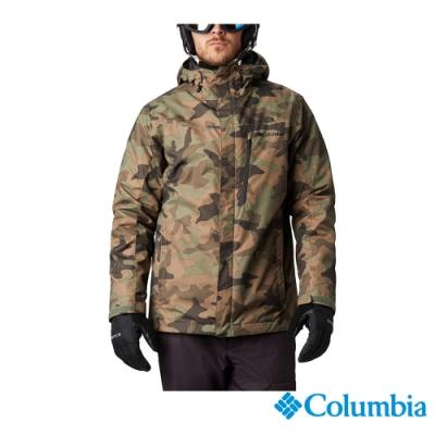 Columbia 哥倫比亞 男款 - Omni-Tech科技防水鋁點保暖兩件式外套-迷彩 UWE11550NC