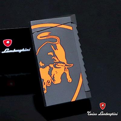藍寶堅尼Tonino Lamborghini IL TORO LIGHTER打火機(黑橘)
