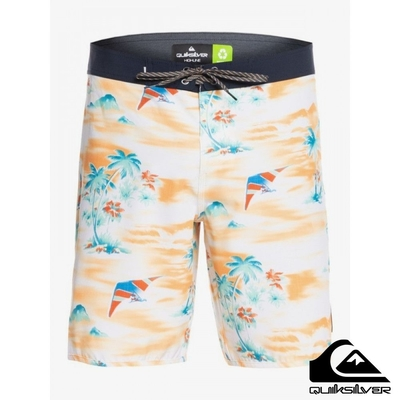 【 QUIKSILVER】SURFSILK MYSTIC SESSIONS 19 衝浪褲 黃色