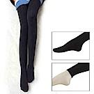 800D 蠶絲絨細膩柔順發熱美體九分褲襪 ( 連襪 / 九分 ) 棉花甜