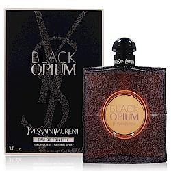 YSL 黑鴉片淡香水 霓光版90ml (法國進口) 附隨機專櫃化妝包乙份