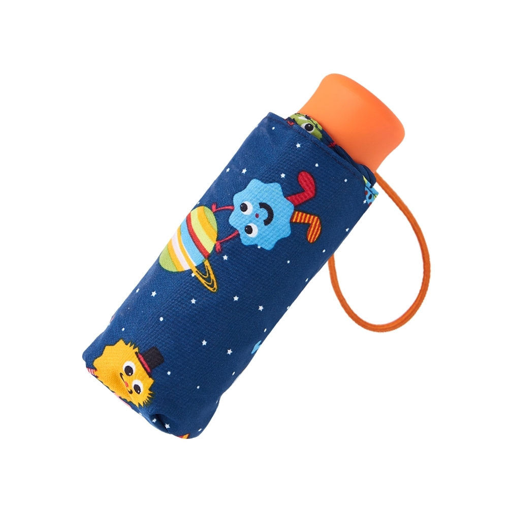 RAINSTORY怪獸PARTY(藍)抗UV手開迷你口袋傘