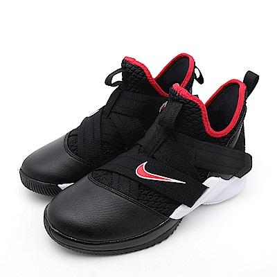 NIKE LEBRON SOLDIER 大童籃球鞋 AA1352001 黑紅