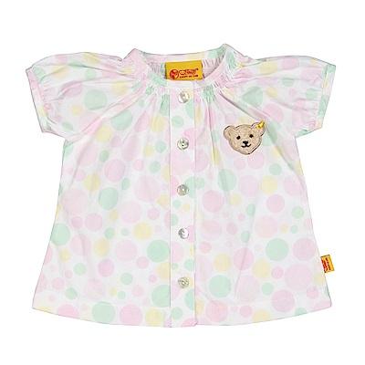 STEIFF德國精品童裝 短袖襯衫 彩色點點