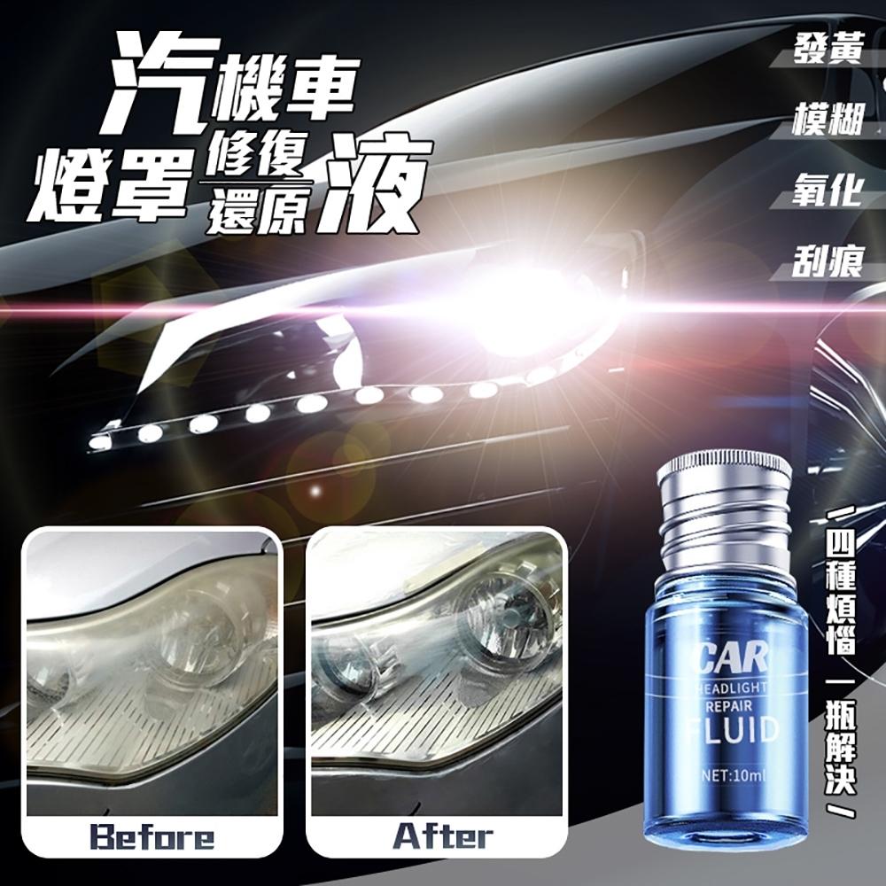 汽機車燈罩修復還原液 超值2入