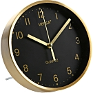 《VERSA》桌面時鐘(黑金16cm)