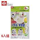日本LEC 免治馬桶專用→馬桶噴嘴&隙縫清潔刷6入組
