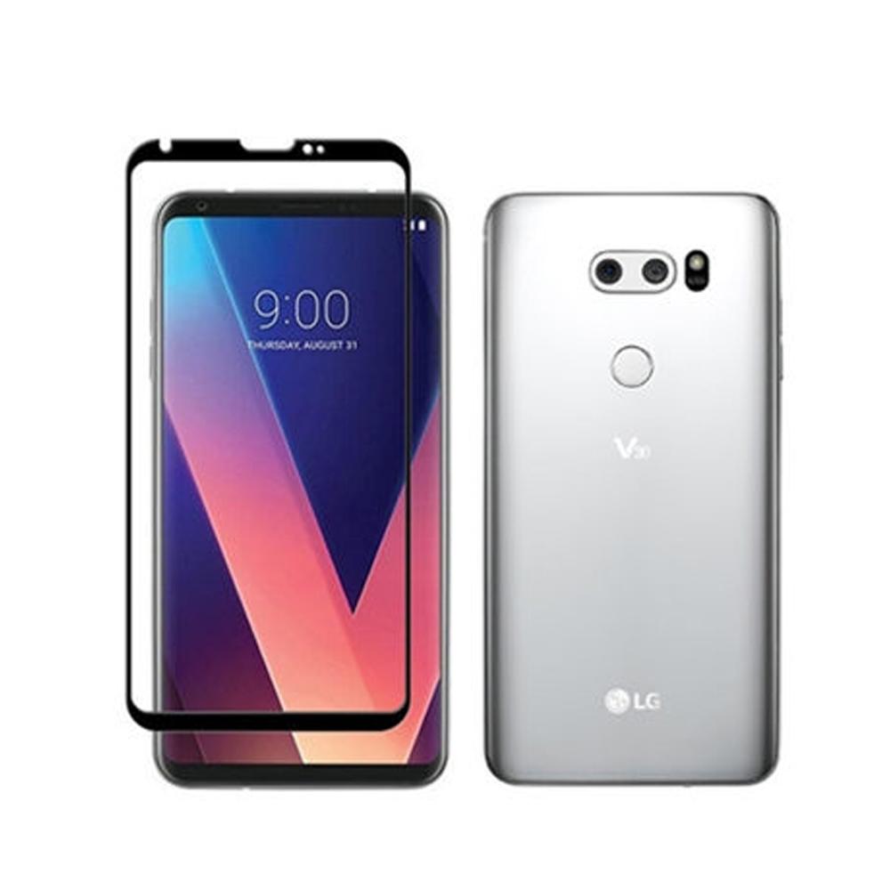 【MK馬克】LG V30+ V30 滿版9H鋼化玻璃貼保護膜