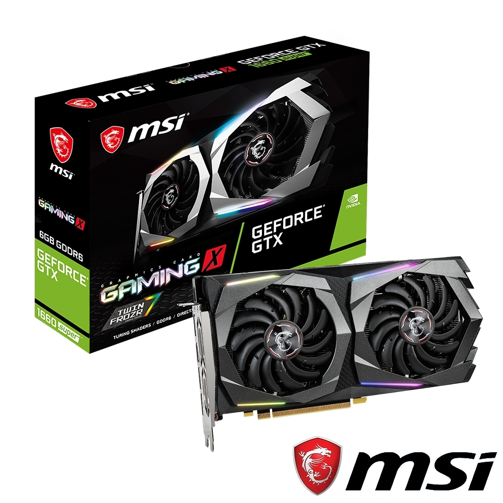 MSI微星 GeForce GTX 1660 SUPER GAMING X 顯示卡
