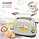 【KRIA可利亞】烘烤二用笑臉麵包機 KR-8003(咖啡色) product thumbnail 1