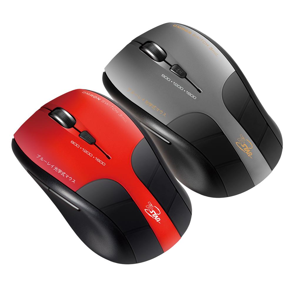 【福利品】TCSTAR 無線藍光滑鼠 TCN645
