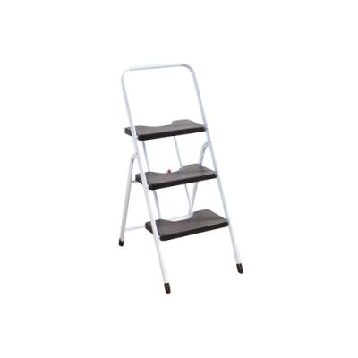 +O家窩 漢克家用耐重摺疊扶手板梯-三階