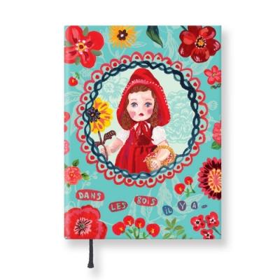 7321 Design - Lovely經典童話條紋精裝本-小紅帽