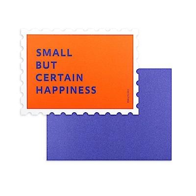 Dailylike 郵票造型卡片信封組-04 快樂