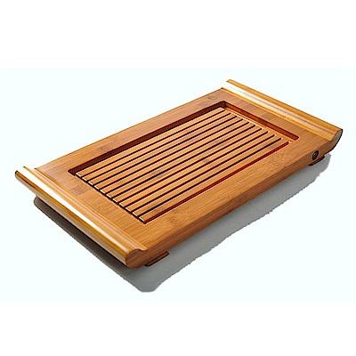 原藝坊 孟宗竹制茶盤 琴瑟流水 (知音)72x26x 5.5cm