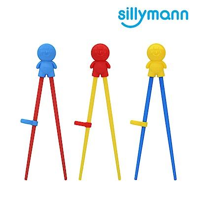 韓國sillymann-100%鉑金矽膠兒童左右手學習筷(顏色任選)