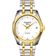 TISSOT Couturier Lady 優美機械腕錶-白x半金/32mm T0352072201100 product thumbnail 1