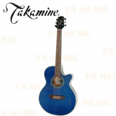 Takamine D51C木吉他 / 民謠吉他 / 藍色 / 贈超值配件包