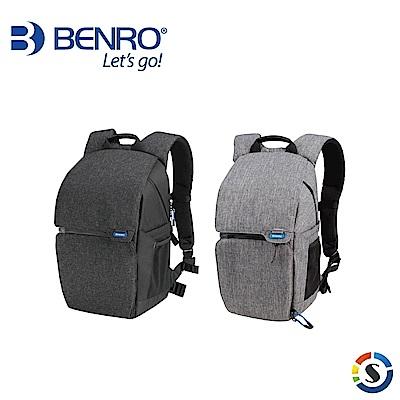 BENRO百諾 Traveler 100 行攝者系列雙肩攝影背包(黑/灰)