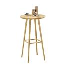 柏蒂家居-肯塔2尺圓形吧台桌/高腳桌/洽談桌-60x60x104cm
