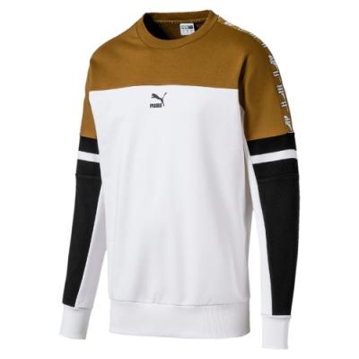 PUMA-男性流行系列XTG圓領衫-白色-歐規