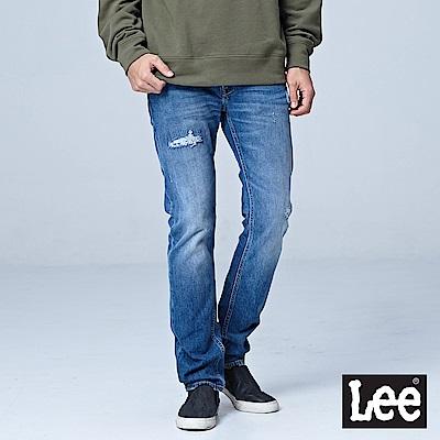 Lee 低腰修身直筒牛仔褲/101+