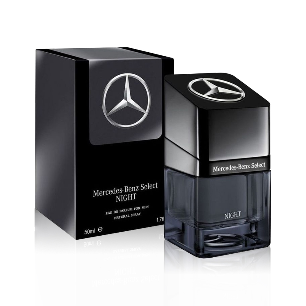 Mercedes Benz Select NIGHT 賓士夜帝耀男性淡香精 50ml product image 1