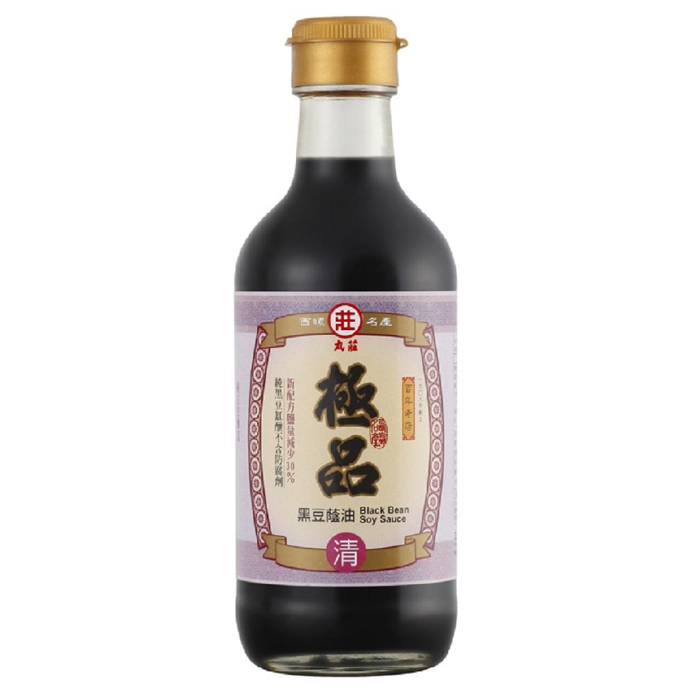 丸莊‧黑豆極品蔭油清(共六瓶)