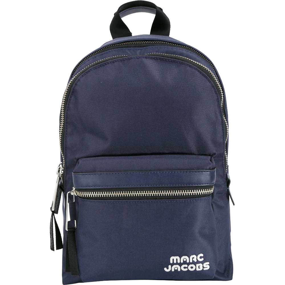 MARC JACOBS Trek Pack 輕質高性能尼龍後背包(中/深藍色)